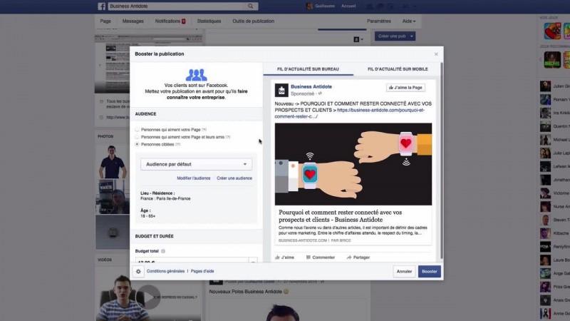 Publicité Facebook - Manière simple et objectifs