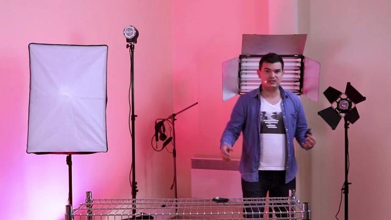 Tournage d'une vidéo de vente avec un DSLR