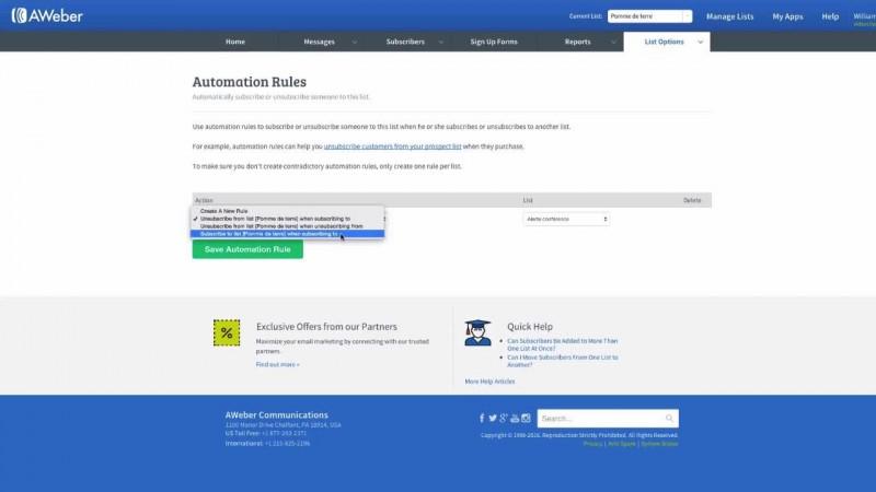 Introduction à l'automatisation de listes
