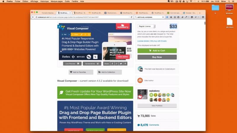 Quelques remarques sur les plugins WordPress