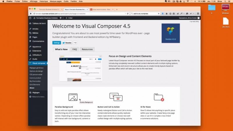 Créer des mises en page bluffantes avec Visual Composer