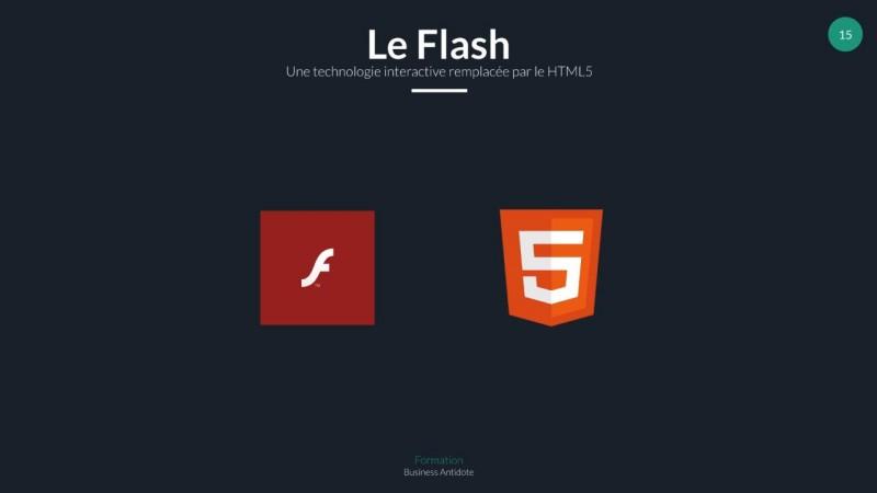 Introduction de la technologie Flash